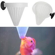 New 1PC Aquarium Basket Feeder Fish Food Live Worm Bloodworm Cone Feed Tools