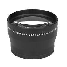 2.2x - 72mm HD Tele Vorsatzlinse Echtglas Marken Optik Vorsatz Linse Objektiv