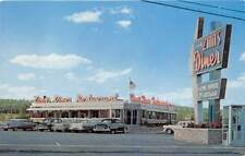 GAP, LANCASTER COUNTY, PA, ZINN'S DINER, CARS, DEXTER PUB CHROME ADV PC c 1950's