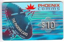 ASIE  TELECARTE / PHONECARD .. SINGAPOUR 10$ PHOENIX COM ANTENNE SATELLITE 2001