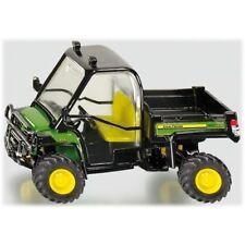 Modellini statici di mezzi agricoli verdi plastici scatola chiusi