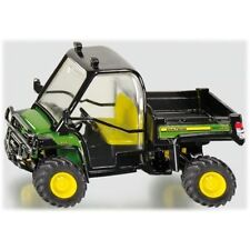 Modellini statici di mezzi agricoli gialli plastici marca SIKU