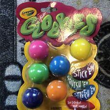 Crayola Globbles 6 Pack Squish Fidget Toys Gift TikTok Jukers - Sealed