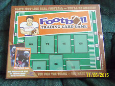 Football Trading Card Board Game Educational Pick Teams Goals New