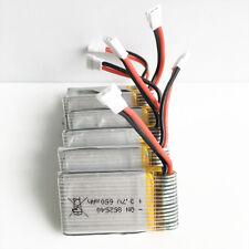 5 pcs 25C 3.7V Lipo battery 650mAh For Syma X5C X5 RC Quadcopter Drone 852540