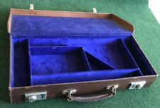 CARRY CASE FOR AN ARTILLERY LUGER PISTOL GUN.