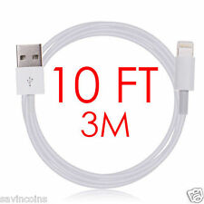 New 8Pin 10FT USB Lightning Cable Data Sync Charger Cord For Apple Iphone