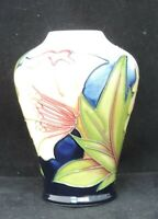Moorcroft Ode to May vase designed and signed by Sian Leeper - 2005