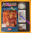 film VHS ARCHEOLOGIA Maya il popolo ritrovato 1998 FABBRI VIDEO (F104) no dvd