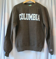 Champion Men's Grey Columbia Eco Fleece Jumper Size XS Good Used Condition