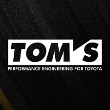 Toyota Motorsport TOMS Sticker Decal Performance Engineering Japan JDM