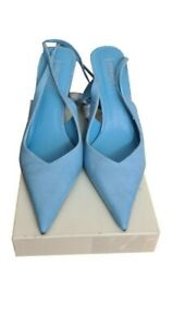 TOPSHOP Shoes Size 8 Blue w/Calf Straps NEW Xmas Party Evening Wedding