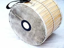 "20 ""  PERCUSSION    DAVUL DHOL TUPAN DRUM  ANIMAL SKIN"