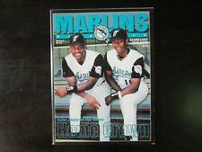 1996 Florida Marlins Magazine / Program Charles Johnson Renteria Vol 4 Edition 5