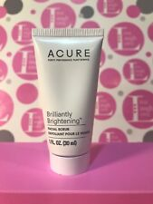 New Sealed Acure Brilliantly Brightening Facial Scrub Sample 1 Fl.Oz./30ML