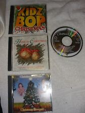 Lot of 4,Christmas songs,Christmas Bouquet/home 4 Chri./KidZ Bop/Chri. Classics