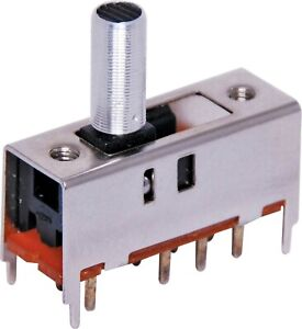 DP3T PCB Mount Miniature Slide Switch