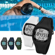 Men Square Dial Stopwatch Military Alarm Swim Sports Digital Wrist Watch Latest