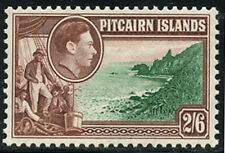 Pitcairn Island Royalty Themed Stamps