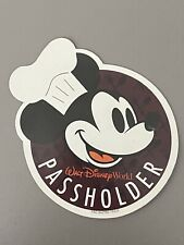 Disney World Annual Passholder Magnet - 2018 Food & Wine Festival - Mickey Mouse