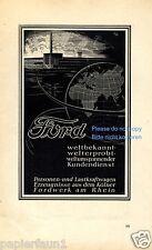 FORD Colonia la pubblicità di 1941 pubblicità ad MONDO TERRA FORD fabbrica di auto