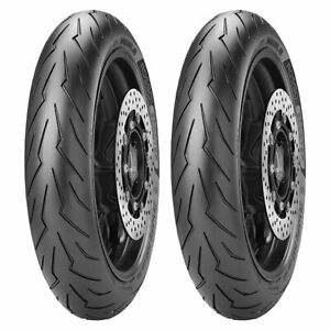 TYRE SET PIRELLI 120/70-16 ROSSO SCOOTER + 120/80-14 ROSSO SCOOTER DOT17