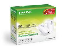 TP-LINK Tl-pa9020p Kit Gigabit Passthrough Powerline Adapter 2000mbps Av2000