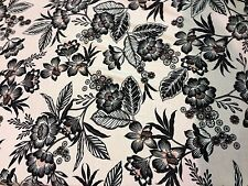 DULL PINK FLORAL PRINTED JERSEY DRESS FABRIC 140 CM WIDE