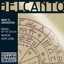 Thomastik Belcanto Bass Orchestra 3/4 - BC600- Medium - Rope Core