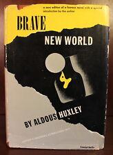 Aldous Huxley Brave New World 1946 DJ First Edition Thus Dystopia British