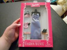 NEW Barbie Fashion Avenue Lingerie Fasihon 14292 purple gown and under garments