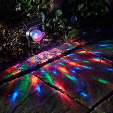 PROIETTORE Carnevale solare in movimento variazione di colore luce da giardino LED Riflettore doccia