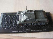 CHAR DE COMBAT 1/72  polish regiment 1945  berlin     IXO    serie  12