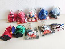Mobile Suit Gundam Figure Key Holder Key Chain 10 pieces set Banpresto Japan F/S