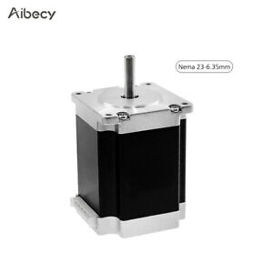 Aibecy Nema 23 Stepper Motor with Motor Leads Shaft Diameter 6.35mm High N4N2