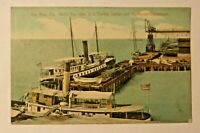 U.S. Coaling Station and Lighthouse Dept. Key West Florida Postcard, Posted 1908