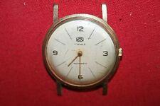 Vintage UMF Ruhla 89-06 Tschaika 1601 A Herren Armband Uhr Ø 3,6 - 7 Jewels DDR