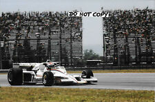9x6 photographie Clay Regazzoni, F1 Shadow DN8 Brazilian GP Rio de Janerio 1978