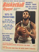 Basketball Digest Bob McAdoo Kareem Abdul Jabbar November 1975 042519nonrh