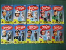 More details for vivid imaginations captain scarlet carded figures - complete collection x 10