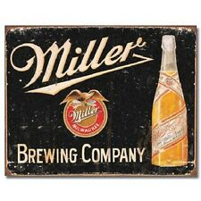 Miller Brewing High Life Bottle Beer Retro Label Bar Wall Decor Metal Tin Sign