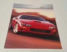 2000 Chevrolet Chevy Camaro Dealership Retail Catalog Brochure USA