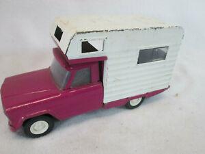 Vintage 1969 Tonka mini purple Jeep camper RV truck no. 1070