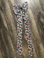 Longaberger Easter Egg Fabric BOW Wreath Door Wall Hanging NEW