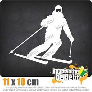 Skifahrer Skiläufer Langlauf csf0772  JDM  Sticker Aufkleber