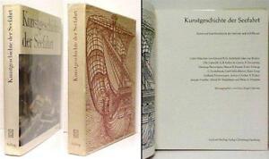 Kunstgeschicte der Seefahrt Book,Hansen, Art & The Seafarer Sailor,German, 1966