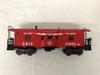 Lionel (Postwar Remake) Erie C301 Bay Window Caboose w/ RailSounds RARE NO BOX