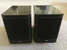 JVC SP-UX1000GR Mini Bookshelf Speakers original pair MARBLE