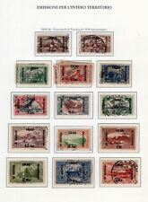 IRAQ  1918-1921 Turkish pictorial issues surcharged SG 1-14  USED