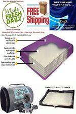 King/California King 98% Waveless Waterbed Mattress, Heater & Stand-Up Liner